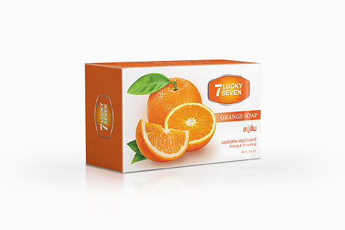 Lucky Seven Orange Soap