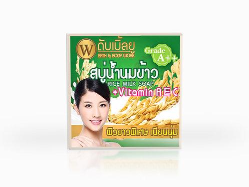 W. Rice Milk & Thanaka Soap