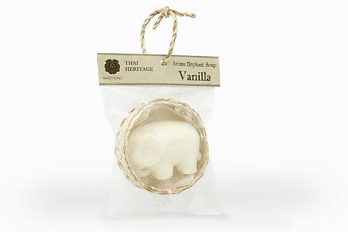 Maithong Aroma Elephant Soap (Vanilla)