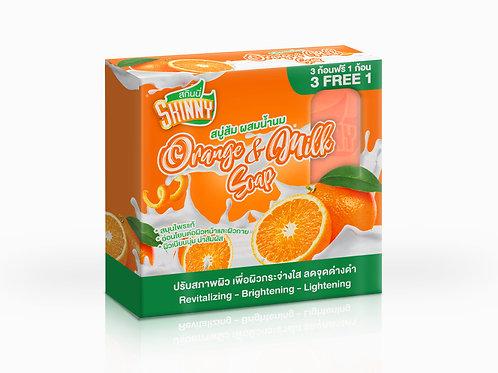 Skinny Orange & Milk Soap