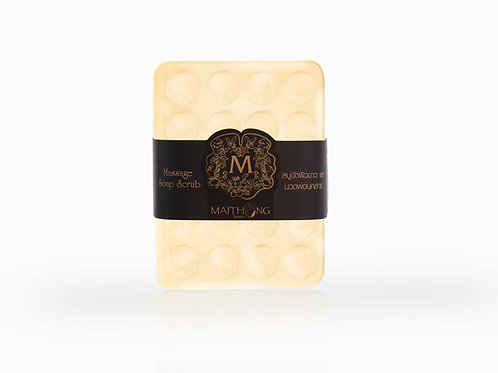 Maithong Massage Soap Scrub (Coconut)