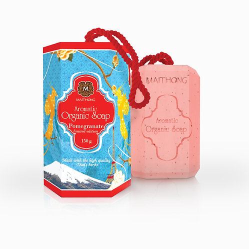 Maithong Aromatic Organic Soap Pomegranate