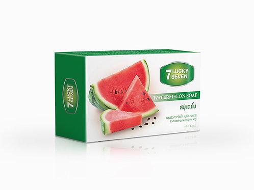 Lucky Seven Watermelon Soap