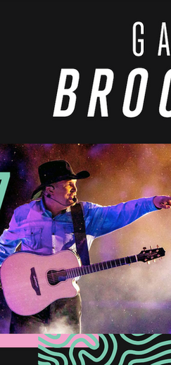 GARTH BROOKS DRIVE-IN   Largest Ever One-Night Outdoor Theater Concert (Over 300 Drive-Ins)