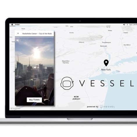 MOBILE-FIRST VIDEO BASED INTERACTIVE MAPS   Vessel