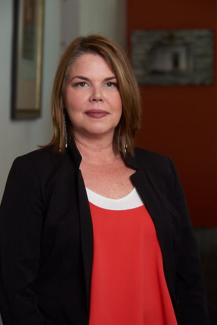 Leslie Culver pictured in the Zarzaur Law Firm office