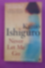 book Never Let Me Go, Kazuo Ishiguro, Man Booker winner