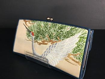 """新商品のがま口財布 """"襖(ふすま)""""です"""