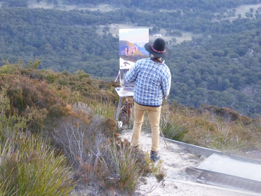 Blue Mountains: Warwick Fuller artists' retreat on the edge