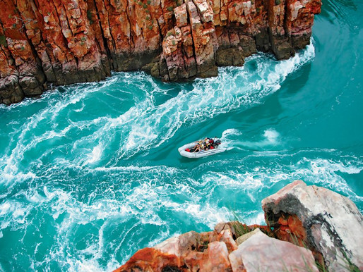 Aussie Outback cruising with purpose