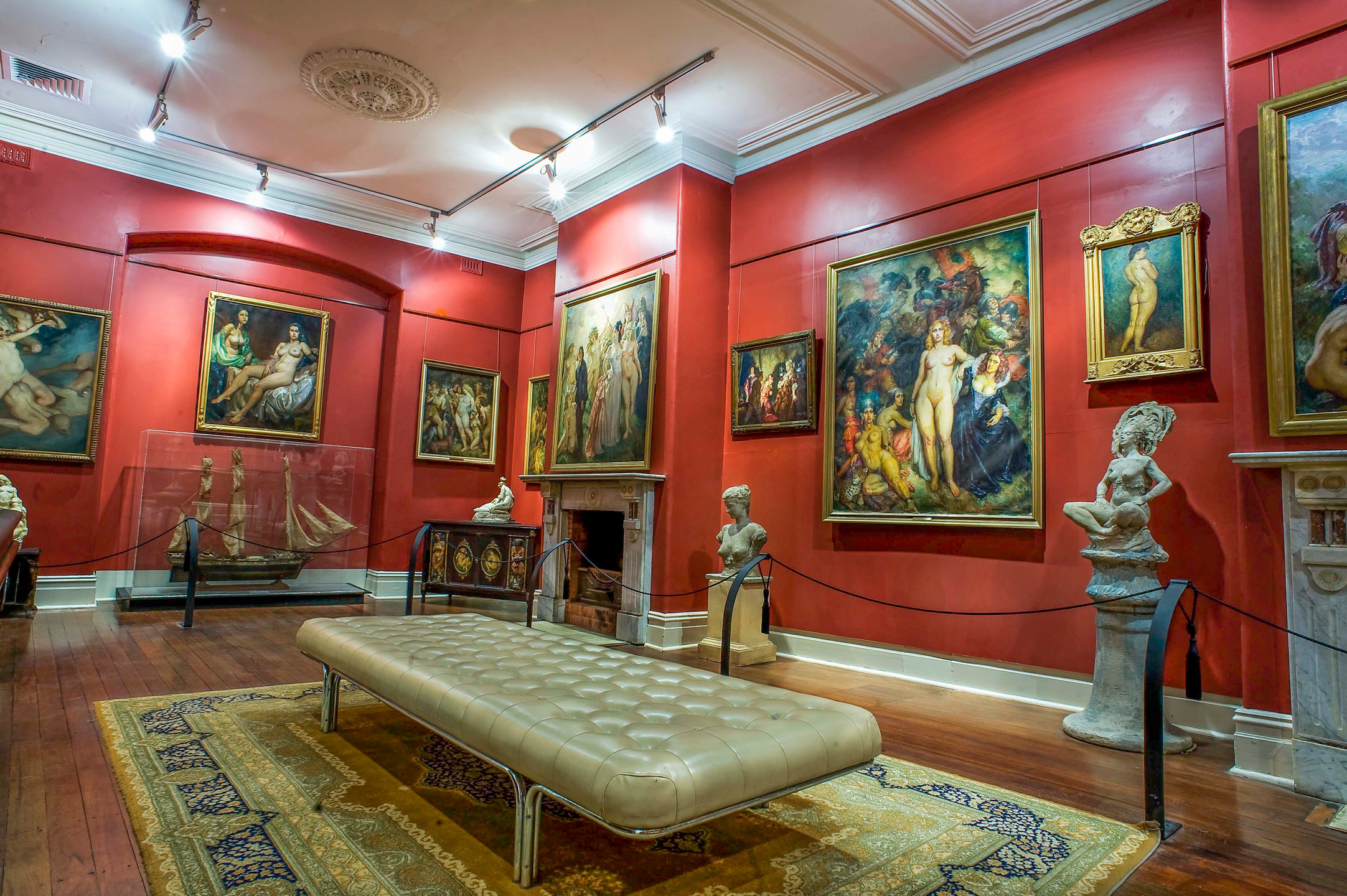 The Norman Lindsay Gallery.
