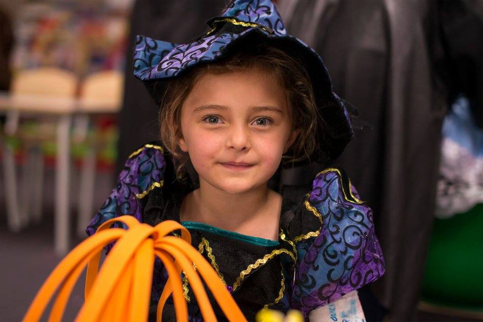 Ghastly ghouls mingled with fairytale characters