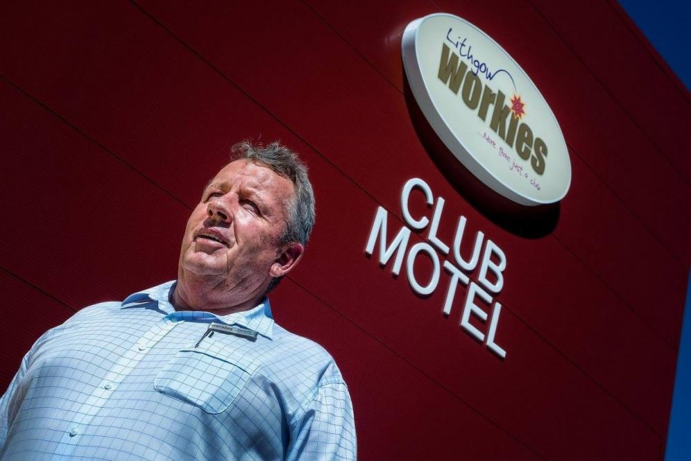 Lithgow Workies Club general manager Geoff Wheeler