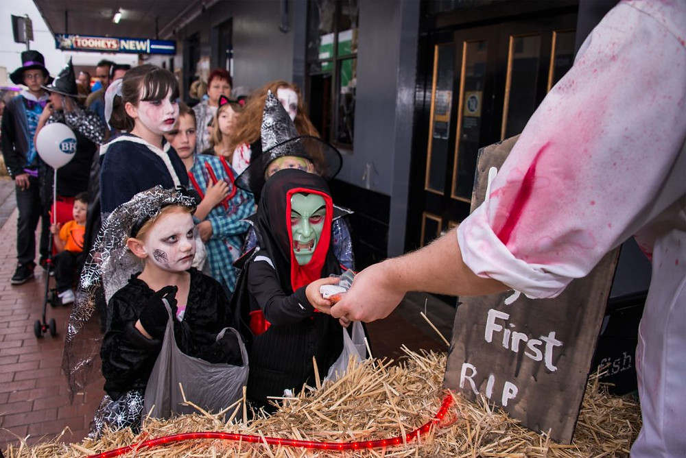 Lithgow Halloween `15. Photo: Ben Pearse, Headline Publicity