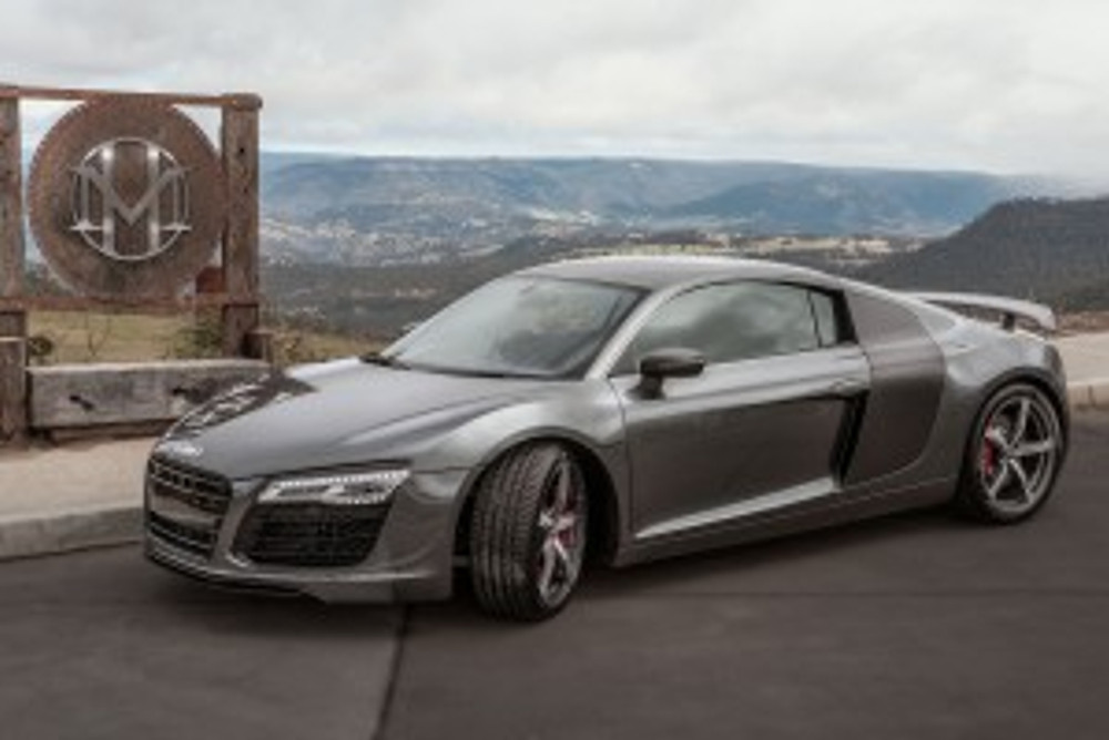 Modern super cars from stables such as Audi will rev into the Hydro Majestic Hotel carpark