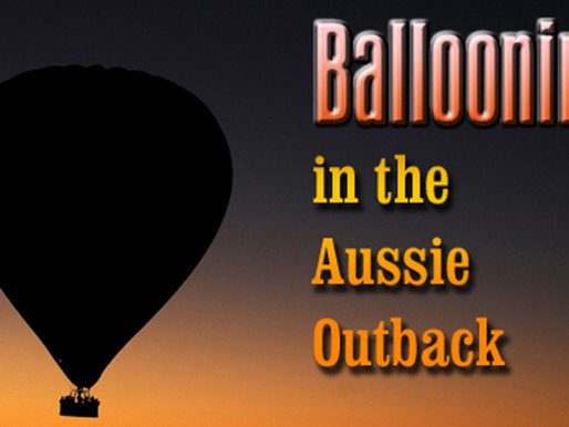 Ballooning in the Aussie Outback