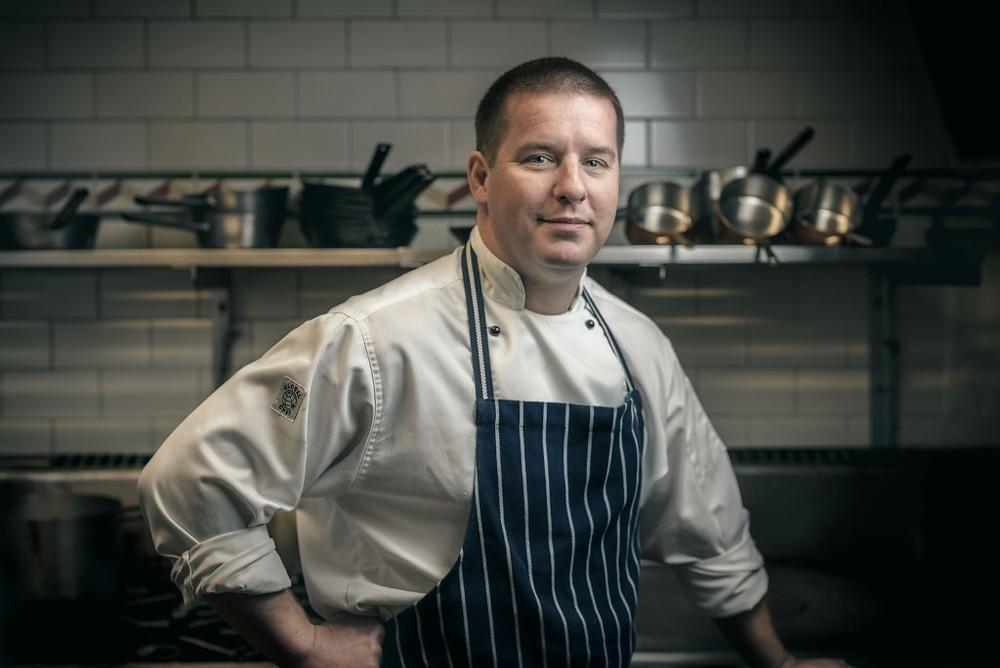Darleys Restaurant executive chef Lee Kwiez