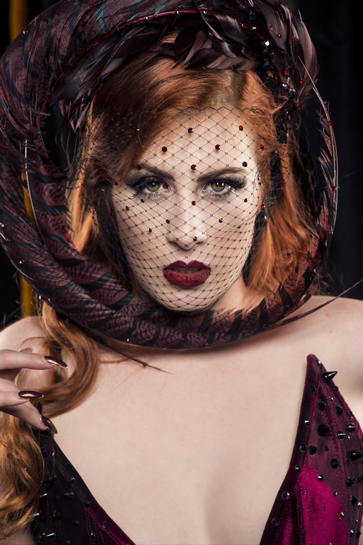 Burlesque performer Jacqueline Furey. Photo: Joel Devereux