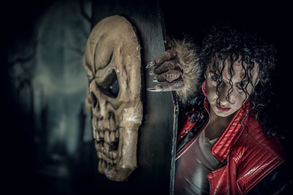 Jason Jackson will lead the Thriller dance-off at Lithgow Halloween `16. Photo: David Hill