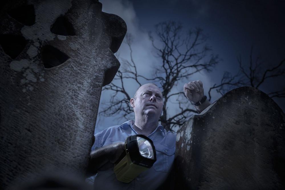 Paranormal Pete (aka Pete Clifford) shines the spotlight on dark tourism