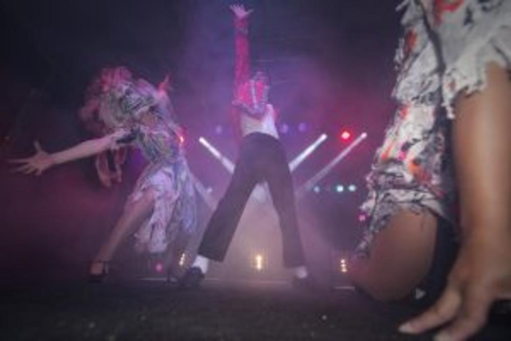 Jason Jackson performing at Lithgow Halloween `15