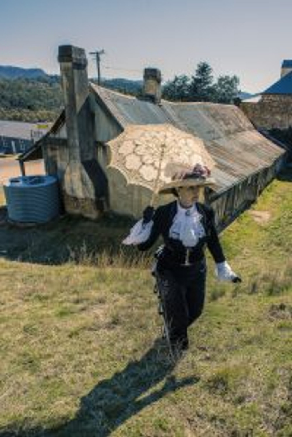 Vicki Hartley of Lithgow Living History
