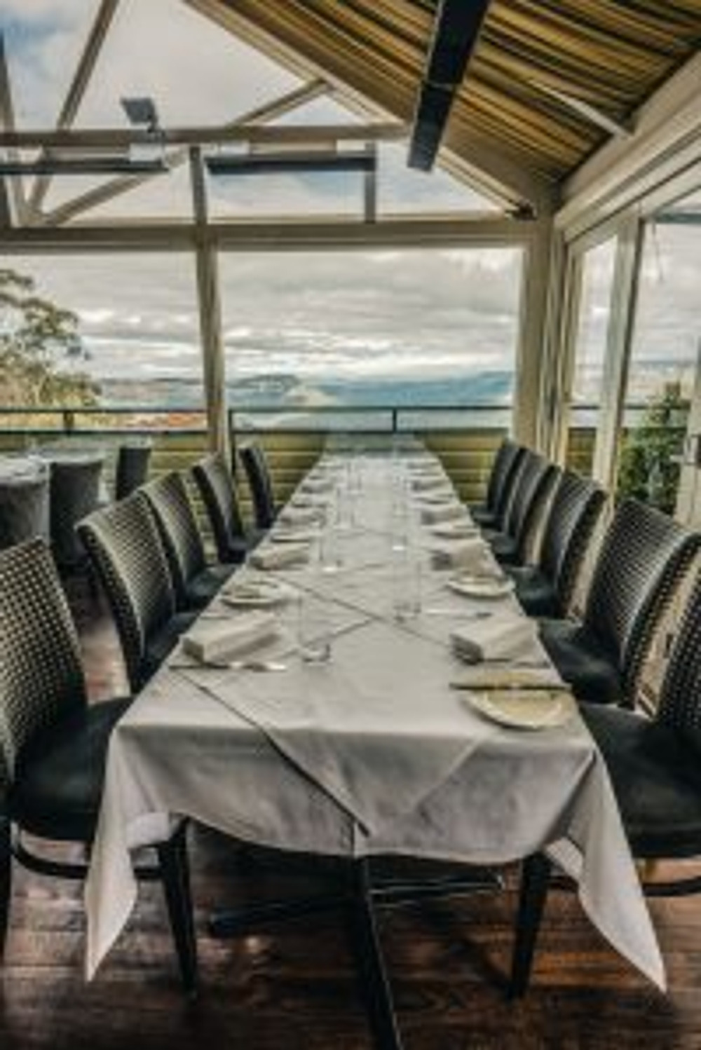 Breathtaking views from Echoes Restaurant