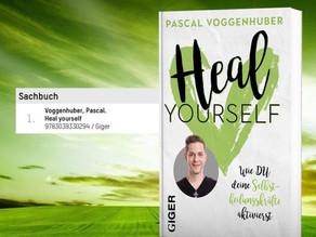 """Buch """"Heal yourself"""" auf Platz 1 der Bestsellerliste!"""