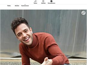 Schweizer Illustrierte - Jetzt geht auch Luca Hänni unter die VIP-Autoren