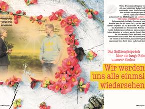 """ENGELmagazin - Jana Haas und Pascal Voggenhuber - """"Wir werden uns alle einmal wiedersehen"""""""