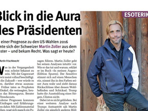 """Glückspost - """"Blick in die Aura des Präsidenten"""" - Bericht über Martin Zoller"""
