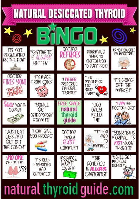 """Are You a Winner at """"NDT Bingo?"""""""