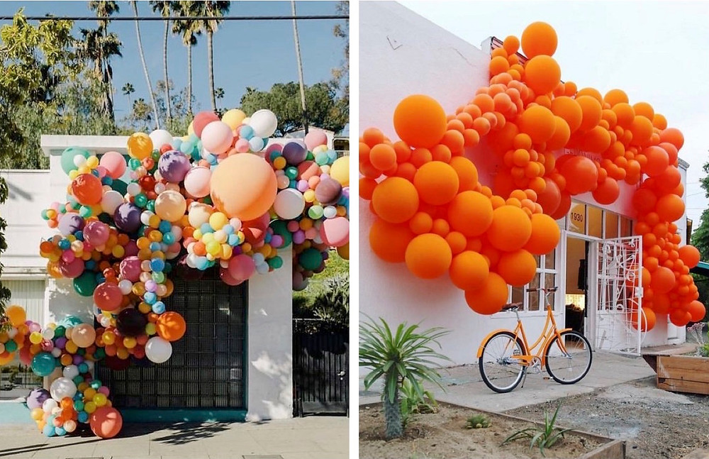 Installations by Geroinimo Balloons