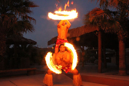Samoan Fire Duo