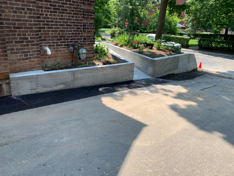 Wall and ramp