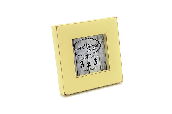 "3x3 Gallery 1"" picture frame - Daffodil"