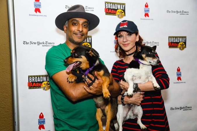 Manu Narayan and Marilu Henner (Marc J. Franklin)