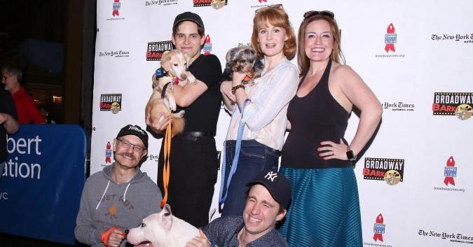Taylor Trensch, Kate Baldwin, Jennifer Simard, David Hyde Pierce and Gavin Creel  (Joseph Marzullo/WENN)