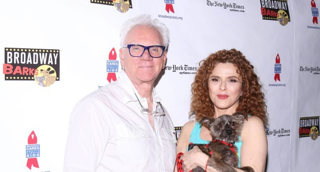 Malcolm McDowell and Bernadette Peters (Joseph Marzullo/WENN)