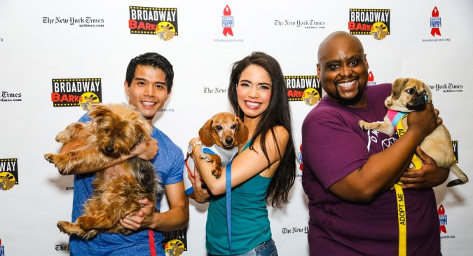Telly Leung, Arielle Jacobs and Major Attaway (Marc J. Franklin)