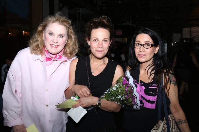 Celia Weston, Lili Taylor and Janeane Garofalo  (Joseph Marzullo/WENN)
