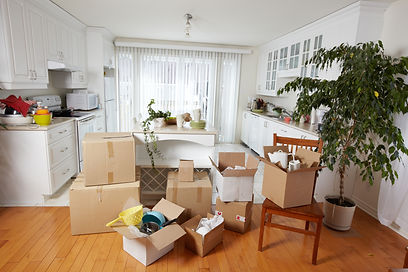 household moving boxes