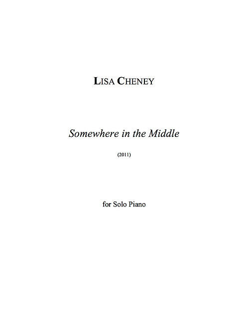 Somewhere in the Middle (Solo Piano)