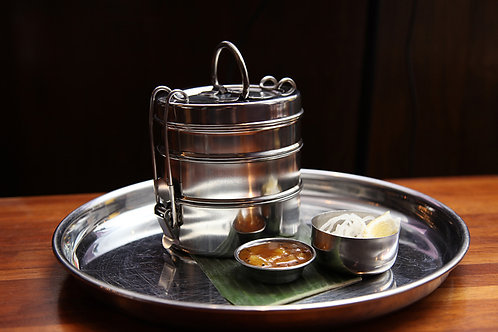 Traditional tiffin container