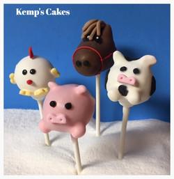Farm Animal Cakepops