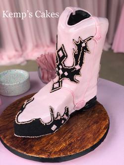 Sculpted Cowboy Boot