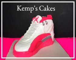 Jordan Shoe Grooms Cake