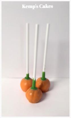 Pumpkin Cakepops