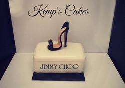 jimmy choo cake