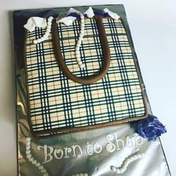 Burberry Bag Cake